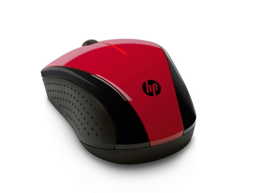HP X3000 Sunset Red Wireless Mouse