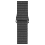Apple MXAA2ZM/A smartwatch accessory Band Black Leather