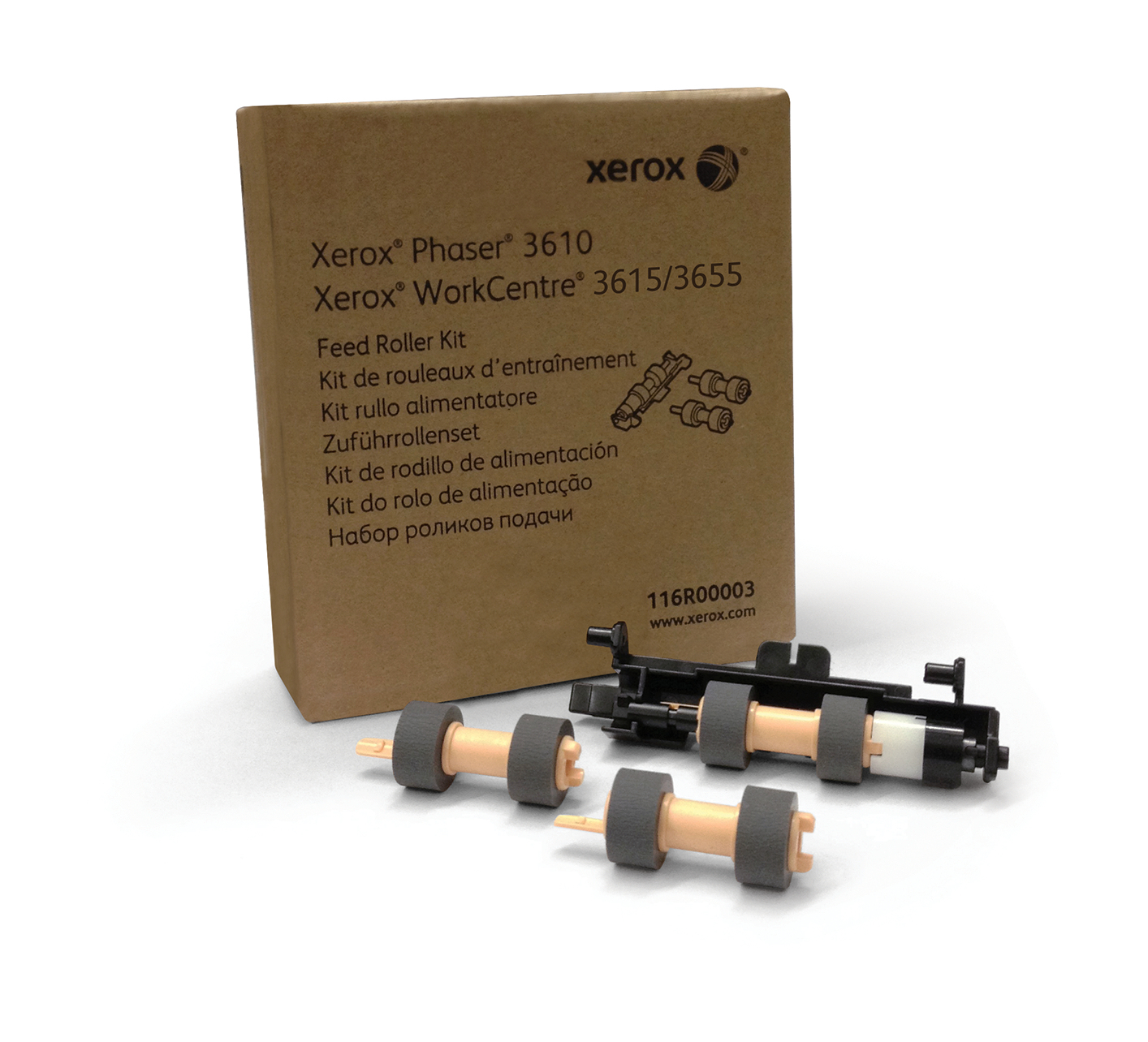 Xerox Kit rodillo alimentación de papel (larga duración, normalmente no necesario)