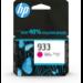 HP Cartucho de tinta Original 933 magenta