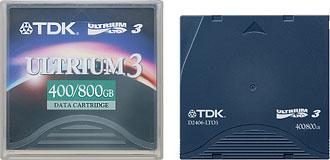 TDK LTO Ultrium 3 cartridge