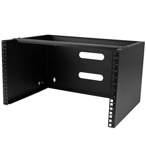 StarTech.com 6U Wall-Mounting Bracket for Patch Panel - 13.78 in. Deep