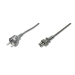 ASSMANN Electronic AK-440115-018-S power cable Black 1.8 m CEE7/7 C5 coupler