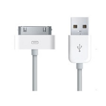 Dynamode C-IP-USB-BL mobile phone cable White USB A Apple 30-pin 1 m