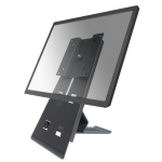 "Newstar Monitor Desk Stand for single screen 10-27"", Height adjustable and tiltable - Black"