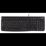 Logitech Keyboard K120 Comfortabel en stil typen