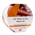3M REFLECTIVE TAPE 3M 50MMX3M 7930 RED/WHITE ( EACH )