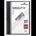 Durable Duraclip 30 report cover Black, Transparent PVC