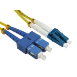 Cables Direct FB2S-LCSC-030Y fiber optic cable 3 m 2x LC 2x SC Yellow