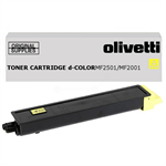 Olivetti B0993 Toner yellow, 6K pages
