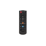 Optoma BR-5042L IR Wireless Push buttons Black remote control