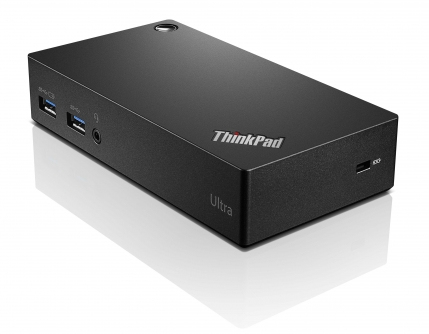 Lenovo ThinkPad USB 3.0 Ultra Dock Wired USB 3.0 (3.1 Gen 1) Type-A Black