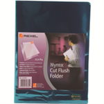"Rexel Nyrexâ""¢ A4 Cut Flush Folders Green (25)"
