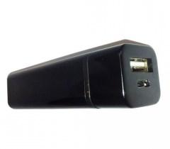 Dynamode USB-PBK-68A-BL power bank 3000 mAh Black
