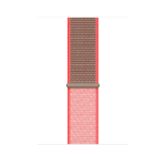 Apple MXMU2ZM/A smartwatch accessory Band Braun, Pink Nylon