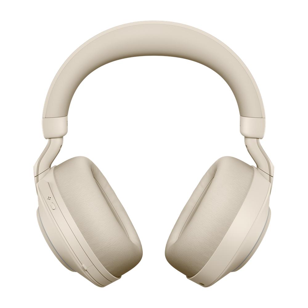 Jabra Evolve2 85, MS Stereo Headset Head-band Beige