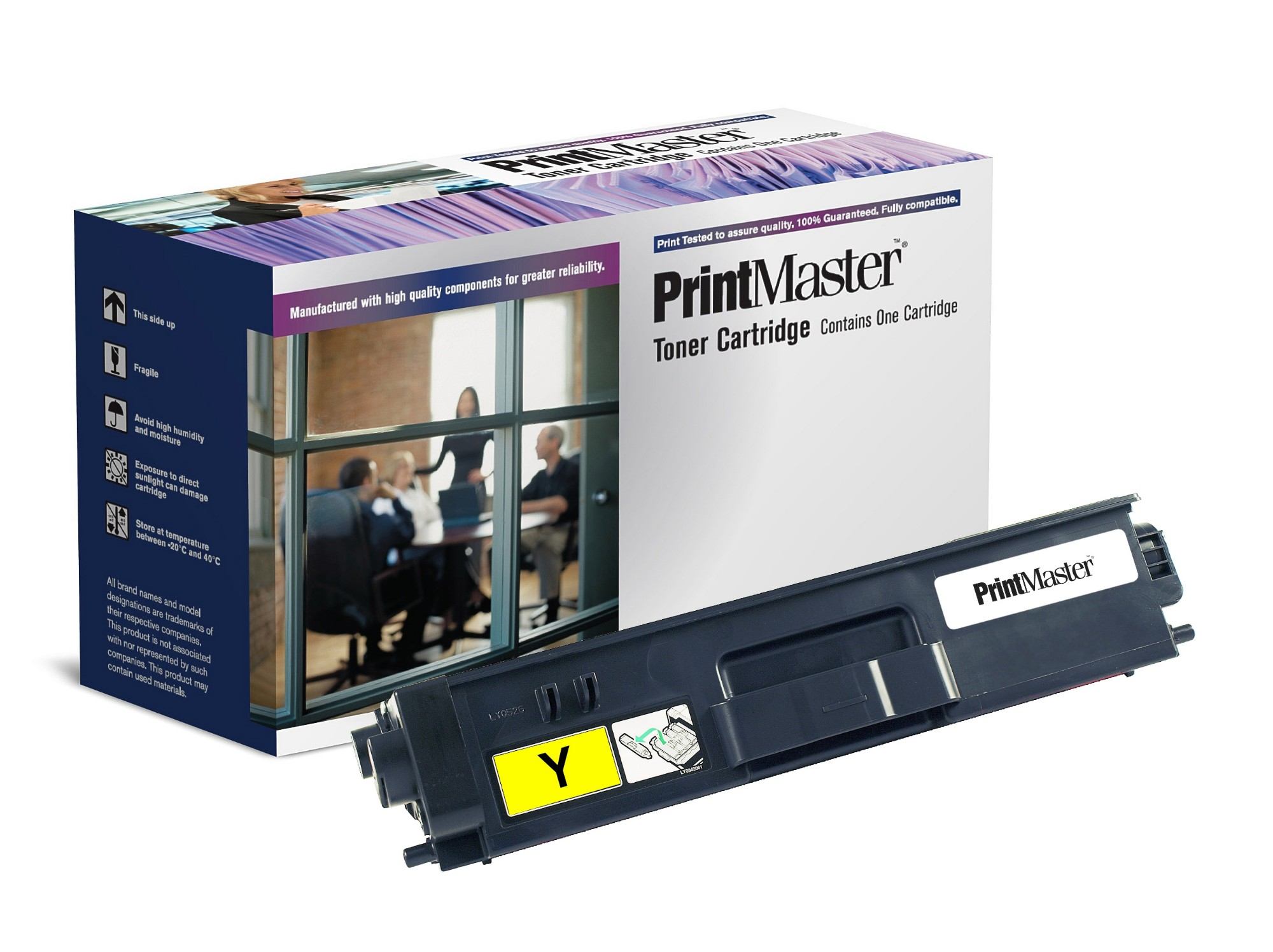 PrintMaster Yellow Toner Cartridge for Brother HL-4140CN/4150CDN/4570CDW
