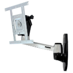 "Ergotron LX HD Wall Mount Swing Arm 42"" Aluminium flat panel wall mount"