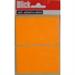 BLICK LABEL FLUO BAG 50X80MM ORG 010852