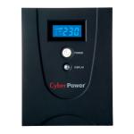 CyberPower VALUE1500EILCD 1500VA 6AC outlet(s) Tower Black uninterruptible power supply (UPS)