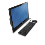 "DELL Inspiron 3464 2.40GHz i3-7100U 23.8"" 1920 x 1080pixels Touchscreen Black All-in-One PC"