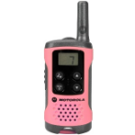 Motorola TLKR T41 two-way radio 8 channels 446 MHz Pink