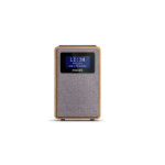 Philips TAR5005/10 radio Clock Digital Grey, Wood