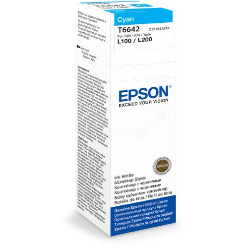 Epson C13T66424A (T6642) Ink cartridge cyan, 6.5K pages, 70ml