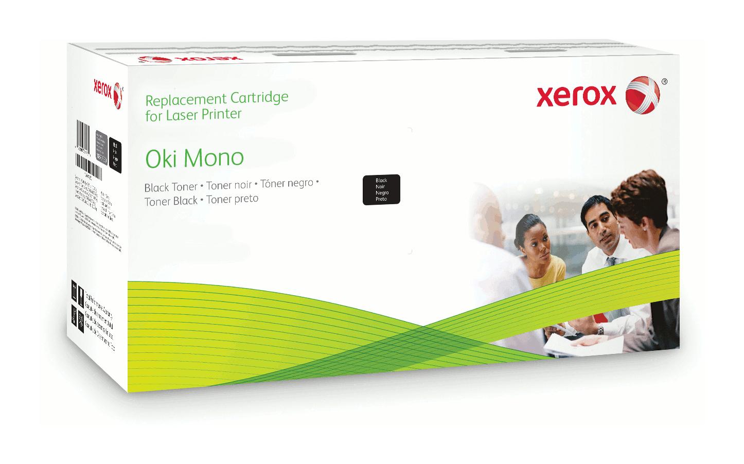 Xerox Cartucho De Tóner Negro. Equivalente A Oki 9004079