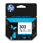 HP F6U65AE (302) Printhead cartridge color, 165 pages, 4ml