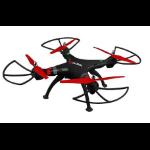 Acteck Dragon 4rotors 2000mAh Negro, Rojo dron con cámara