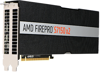 AMD FirePro S7150 x2 AMD 16GB