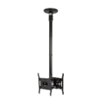 "B-Tech BT5834-075/B 32"" Black flat panel ceiling mount"