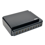 Tripp Lite 10-Port USB Charging Station - 5V 21A / 105W USB Charger Output
