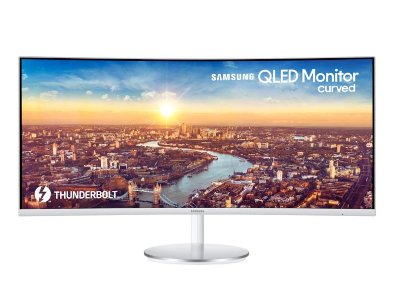 Curved Monitor - C34j791wtu - 34in - 3440x1440 - 2x Thunderbolt 3, Hdmi