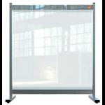 Nobo 1915547 magnetic board Gray, Transparent