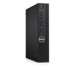 DELL OptiPlex 3050m 3.4GHz i3-7100T 1.2L sized PC Black Mini PC