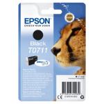 Epson Cheetah Singlepack Black T0711 DURABrite Ultra Ink