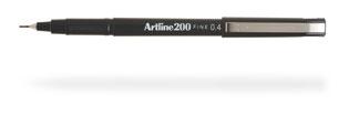 Artline 200 fineliner Black 12 pc(s)