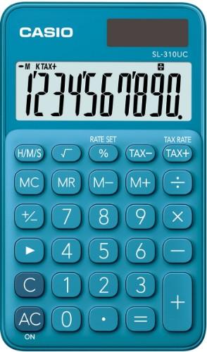 Casio SL-310UC-BU calculator Pocket Basic Blue