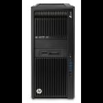 HP Z840 Intel® Xeon® E5 v4 E5-2620V4 16 GB DDR4-SDRAM 1000 GB HDD Tower Black Workstation Windows 10 Pro