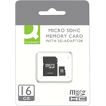 Q-CONNECT 16GB MICRO SDHC CARD CLASS 10