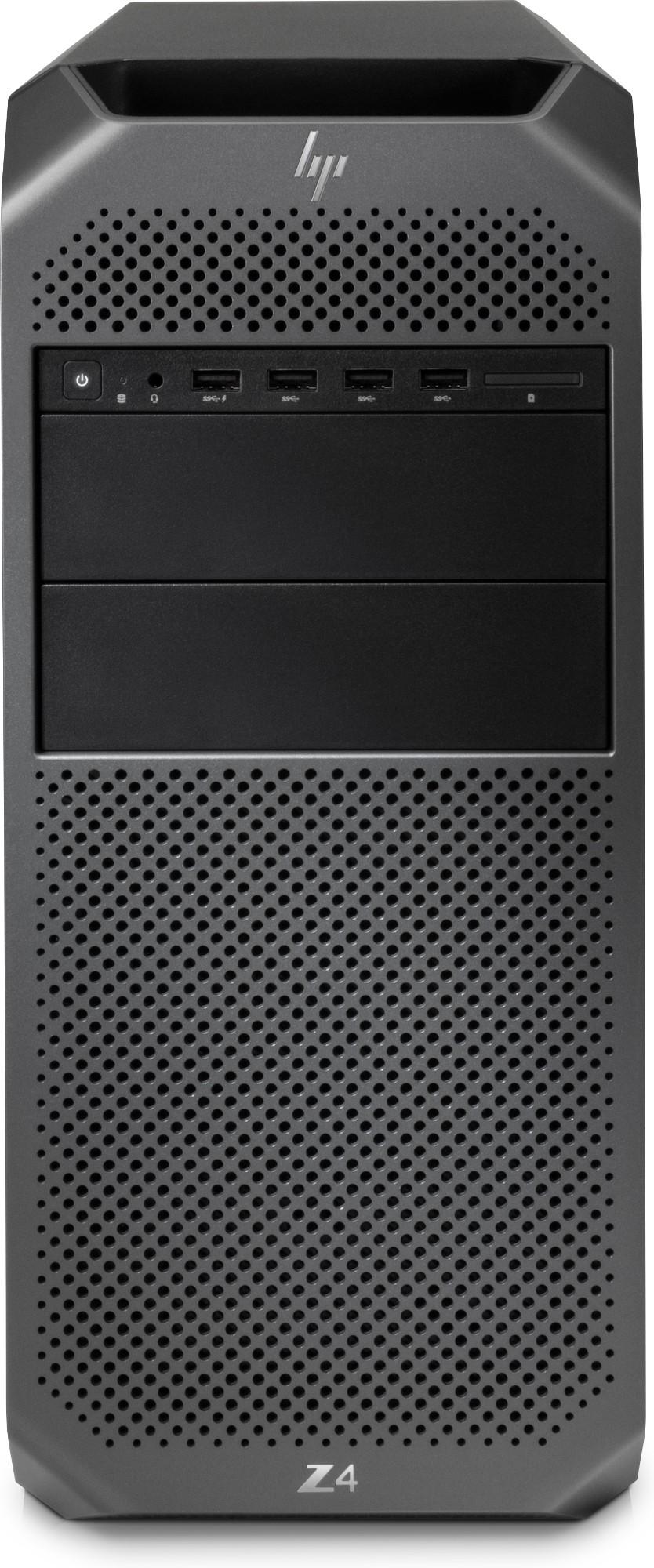 HP Z4 G4 MT 6QN64EA#ABU Xeon W-2123 16GB 1TB/256GB SSD DVDRW Win 10 Pro