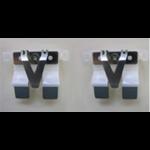 Plustek Separation Pad silver/white