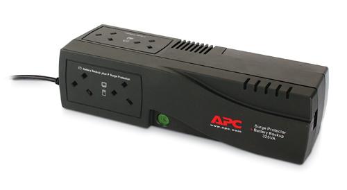 APC Back-UPS 325, UK uninterruptible power supply (UPS) 325 VA 4 AC outlet(s)