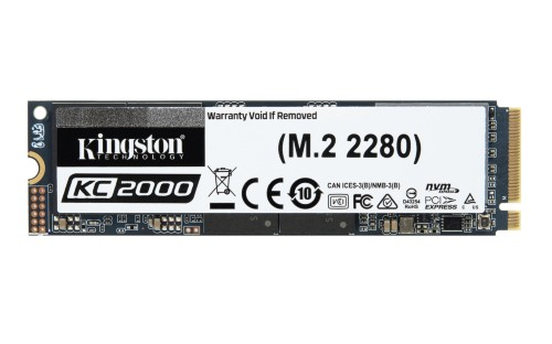 Kingston Technology KC2000 internal solid state drive M.2 250 GB PCI Express 3.0 3D TLC NVMe