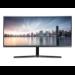 "Samsung LC34H890WJU LED display 86.4 cm (34"") 3440 x 1440 pixels Ultra-Wide Quad HD Black"