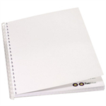 GBC Traditional Binding Covers 220gsm A4 White (100)