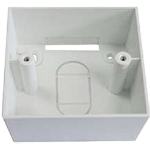 Cablenet 72 2652 White outlet box