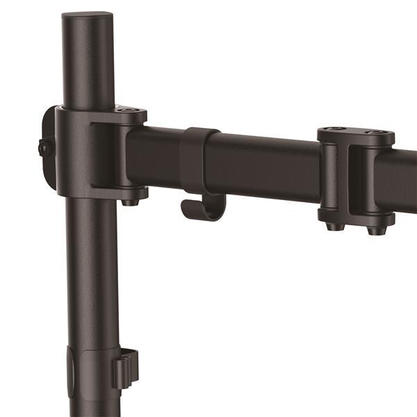 Startech Com Armpivotb 27 Quot Clamp Black Flat Panel Desk Mount